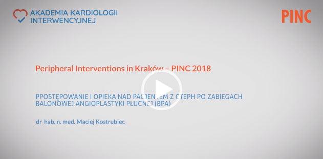 Postępowanie i opieka nad pacjentem z CTEPH po zabiegach balonowej angioplastyki płucnych (BPA)
